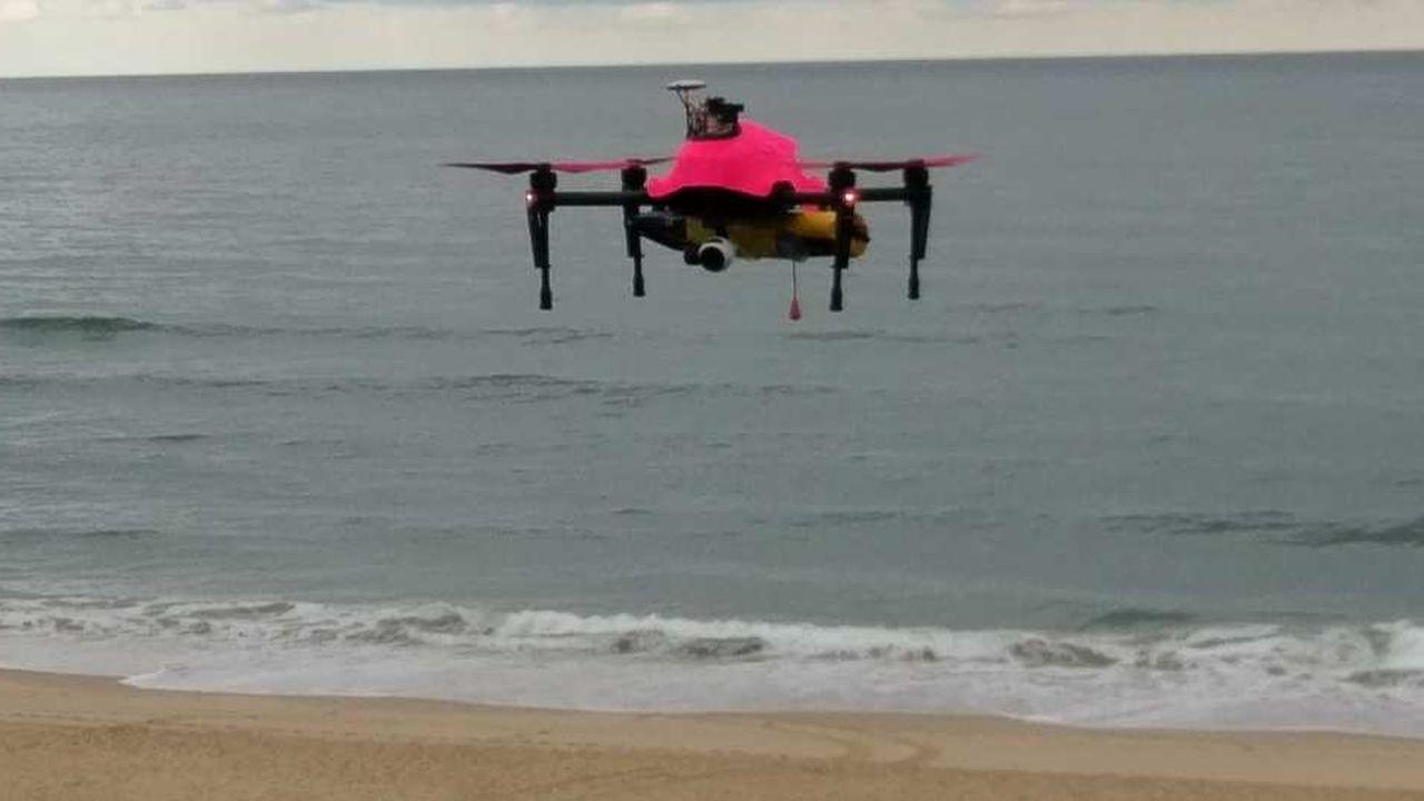 Le drone Helper sera testé par Total, en Angola, sur des missions de sauvetage en mer