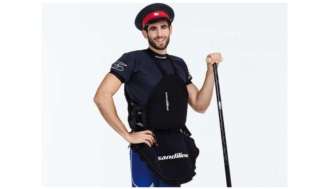 Matthieu Péché, céiste (canoë-kayak bi-place), est aussi chef de projets marketing à la SNCF