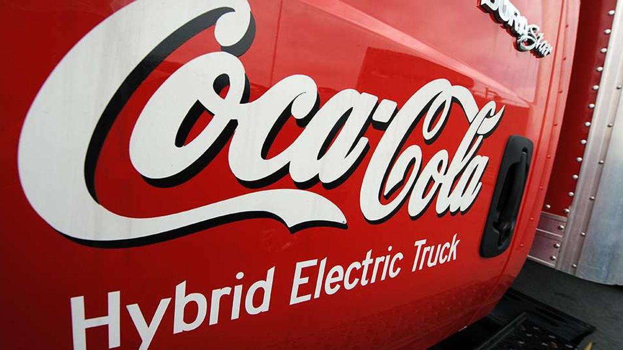 Le camion hybride Coca-Cola Hybrid electric : la RSE occupe une place clé dans la stratégie de l'entreprise