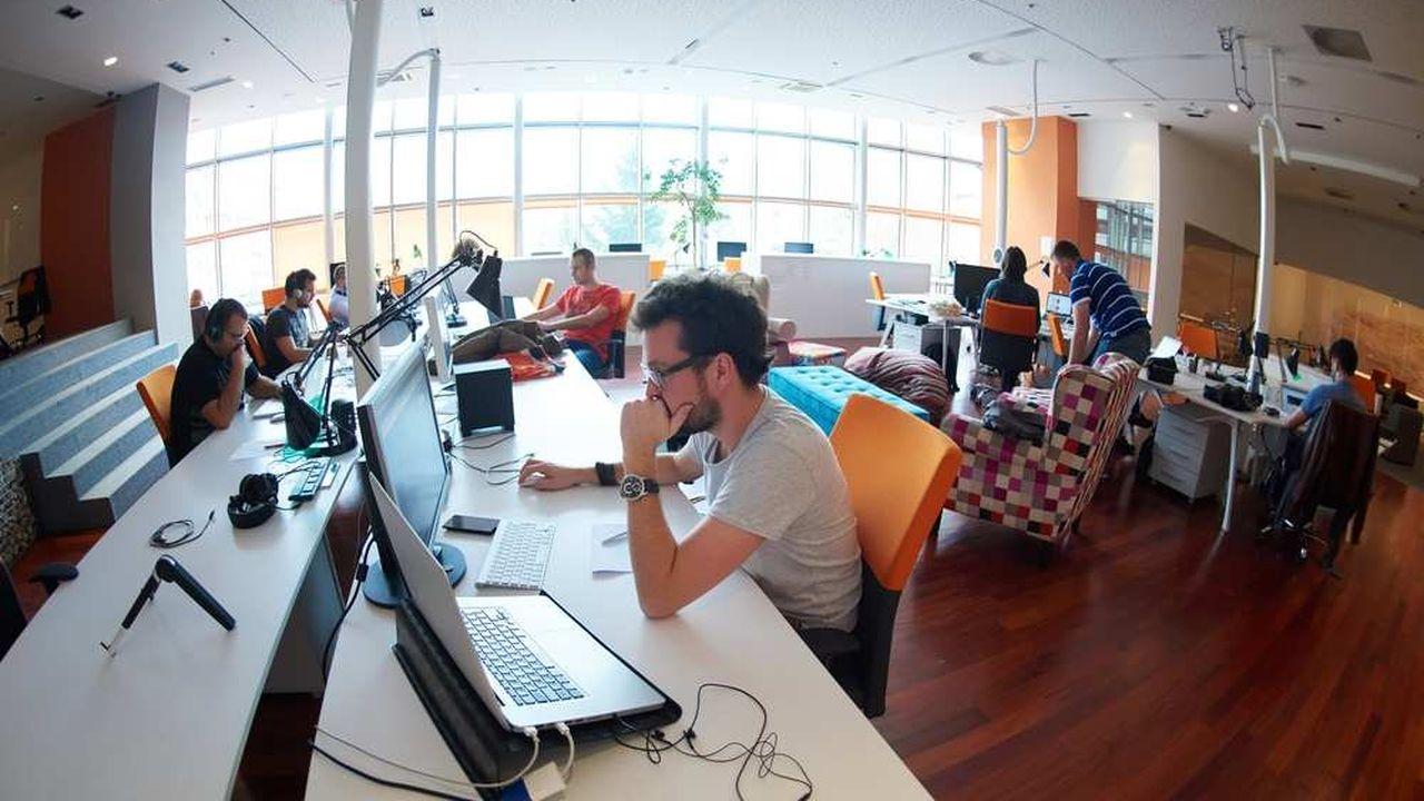 Seuls 18% des actifs travaillent au sein d'un espace décloisonné tandis que 11% bénéficient d'un bureau à taille «humaine »