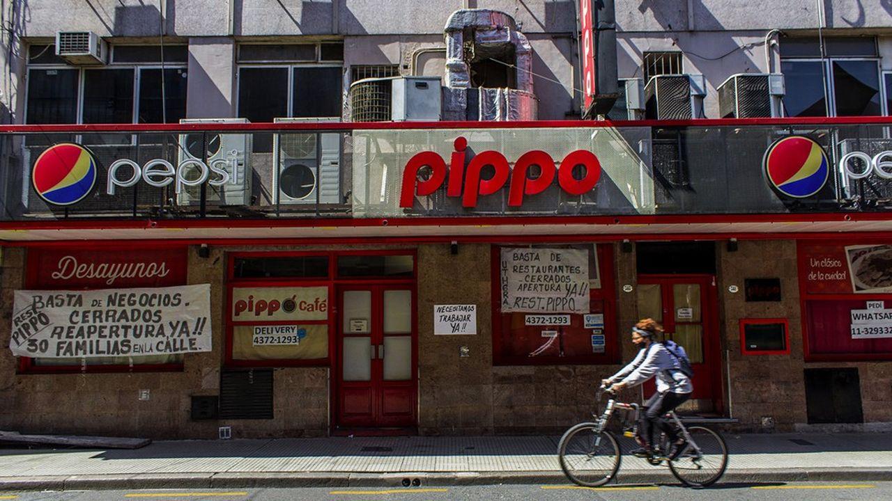 Buenos Aires, une ville confinée
