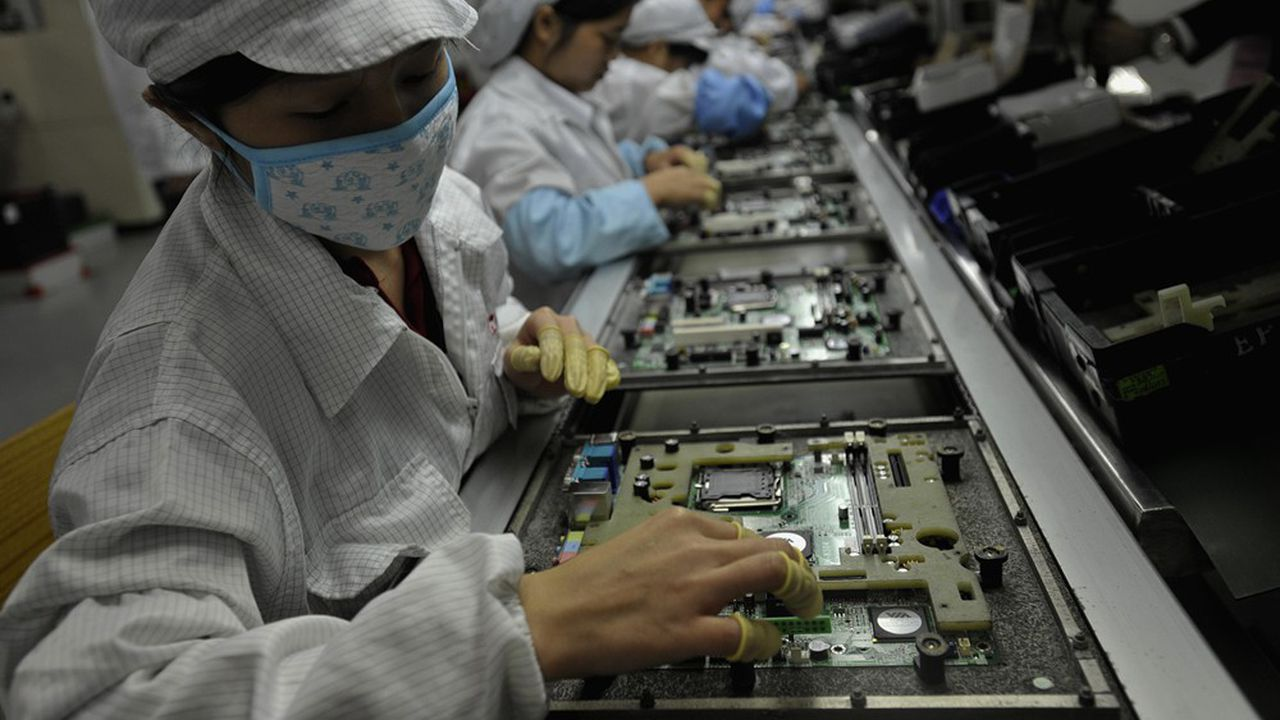 L'excédent commercial chinois augmente mais la consommation patine encore.