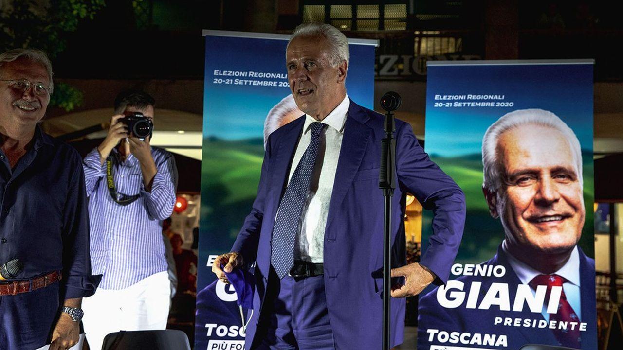 Eugenio Giani a obtenu un deuxième mandat comme président de la région Toscane.
