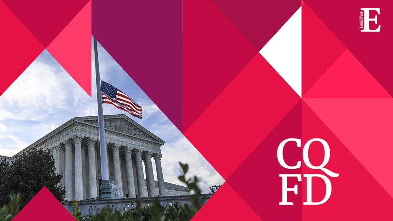 Le siège de la Cour suprême se trouve à Washington.