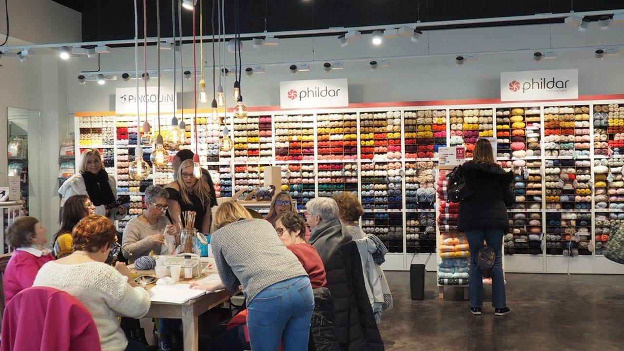 L'offre de reprise présentée par les actuels dirigeants de Phildar prévoit de ne garder que 15 magasins sur 115 (dont 44 en propre).
