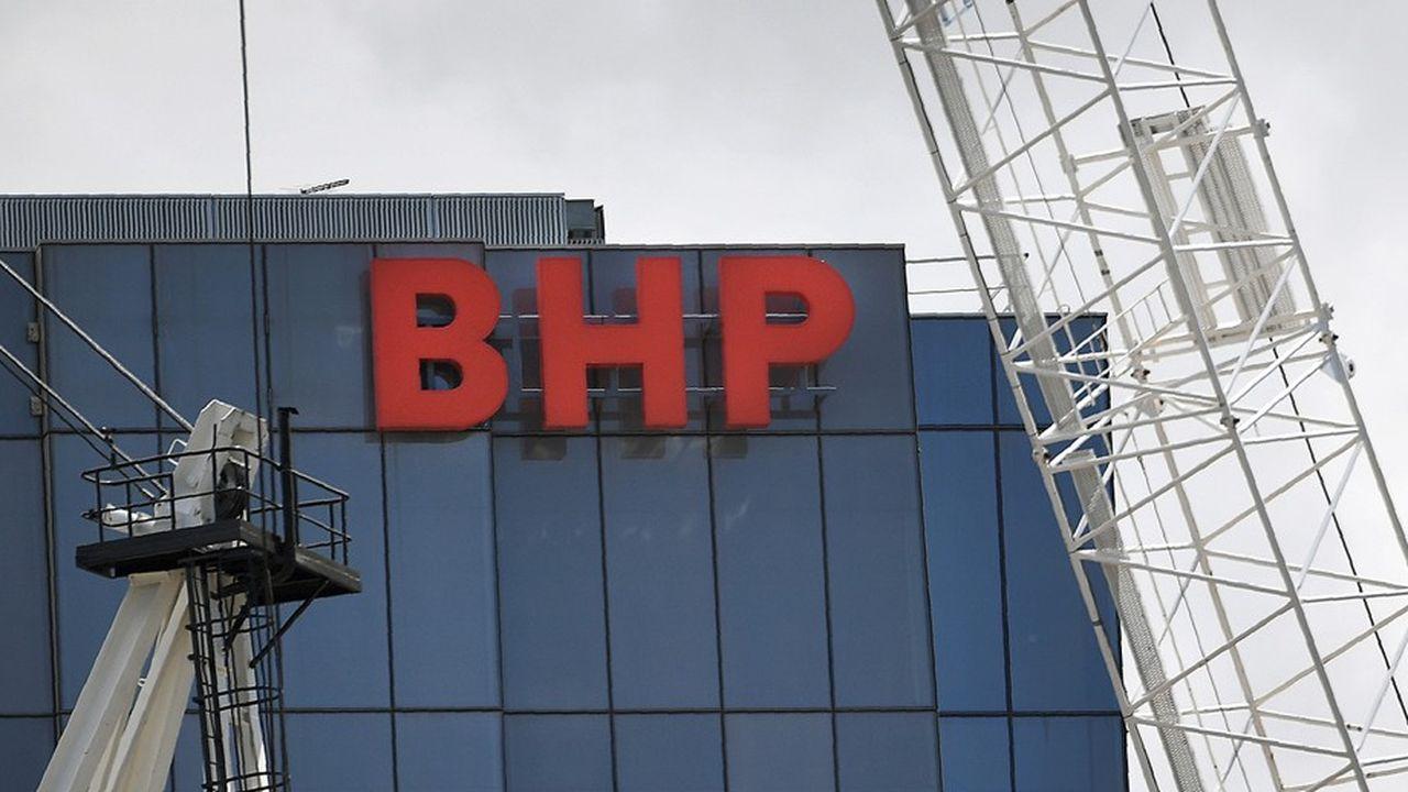 BHP profiterait d'une transition rapide.