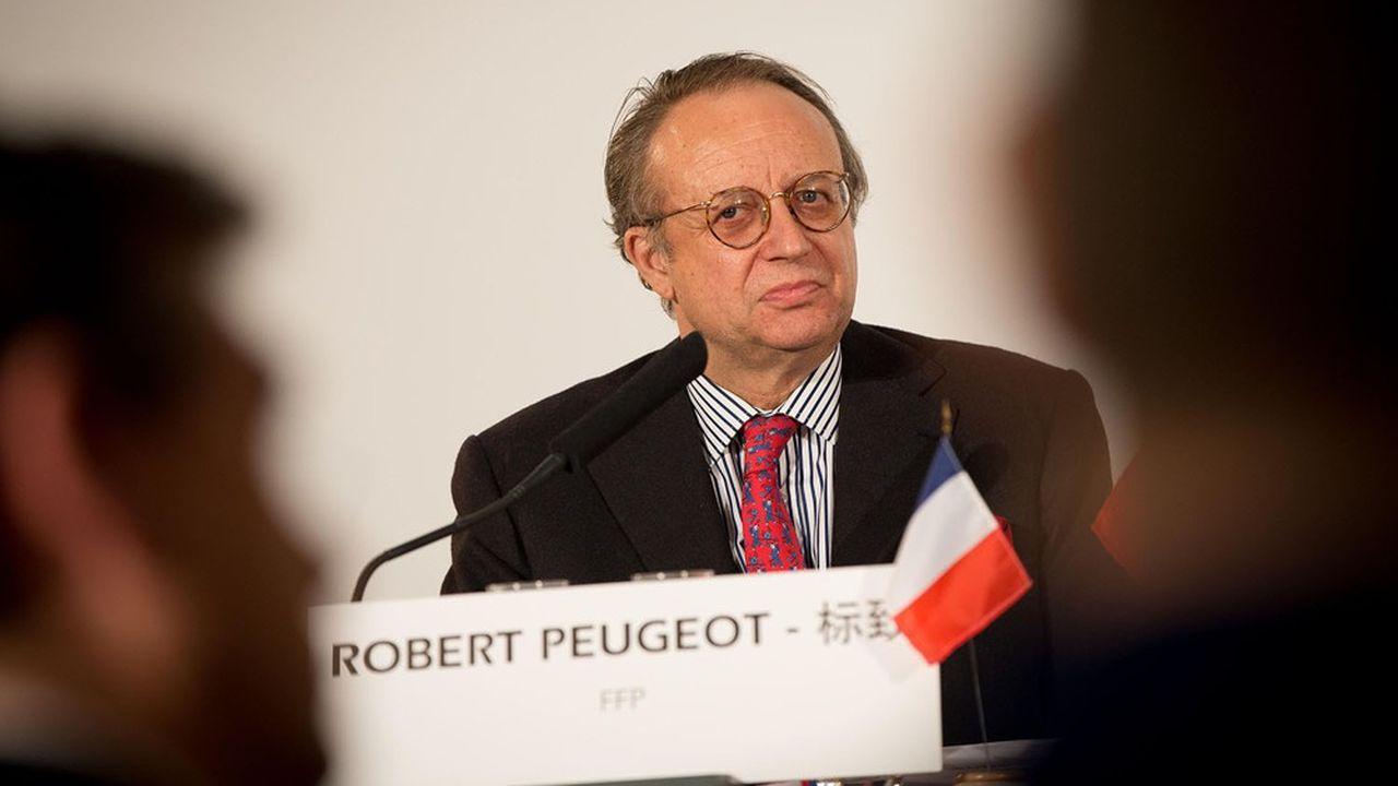 Robert Peugeot, président de FFP, la société cotée détenue à 80% par la famille Peugeot.