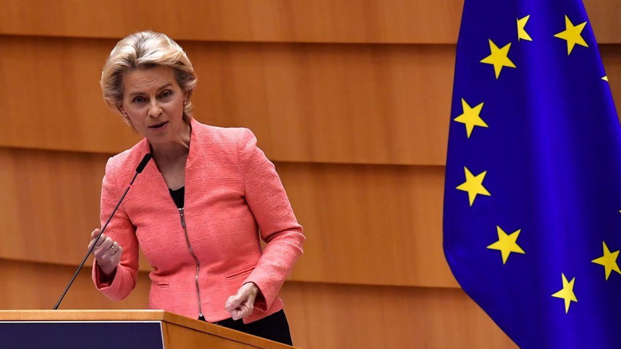 La présidente de la Commission européenne, Ursula Von der Leyen, a annoncé que l'Union européenne allait émettre pour 225milliards d'euros de green bonds.