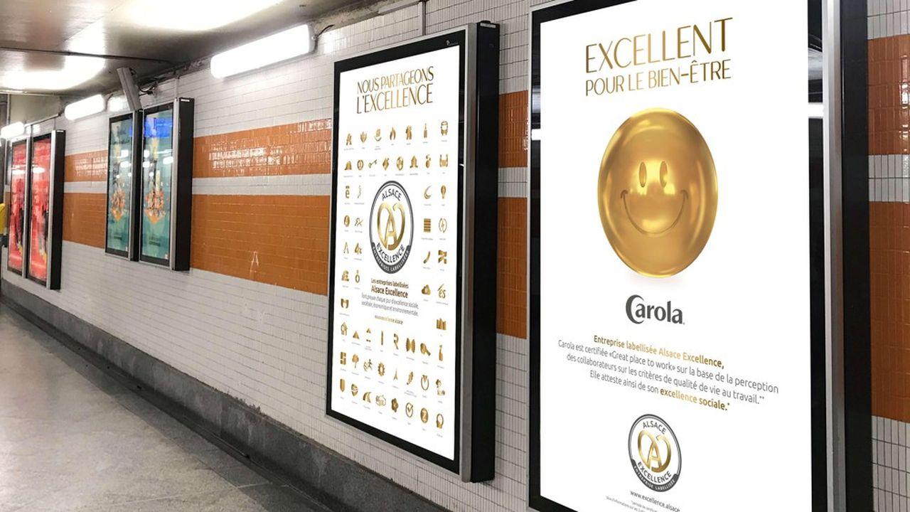 Des campagnes de promotion du label Alsace Excellence sont prévues dans des gares et sur les réseaux sociaux.