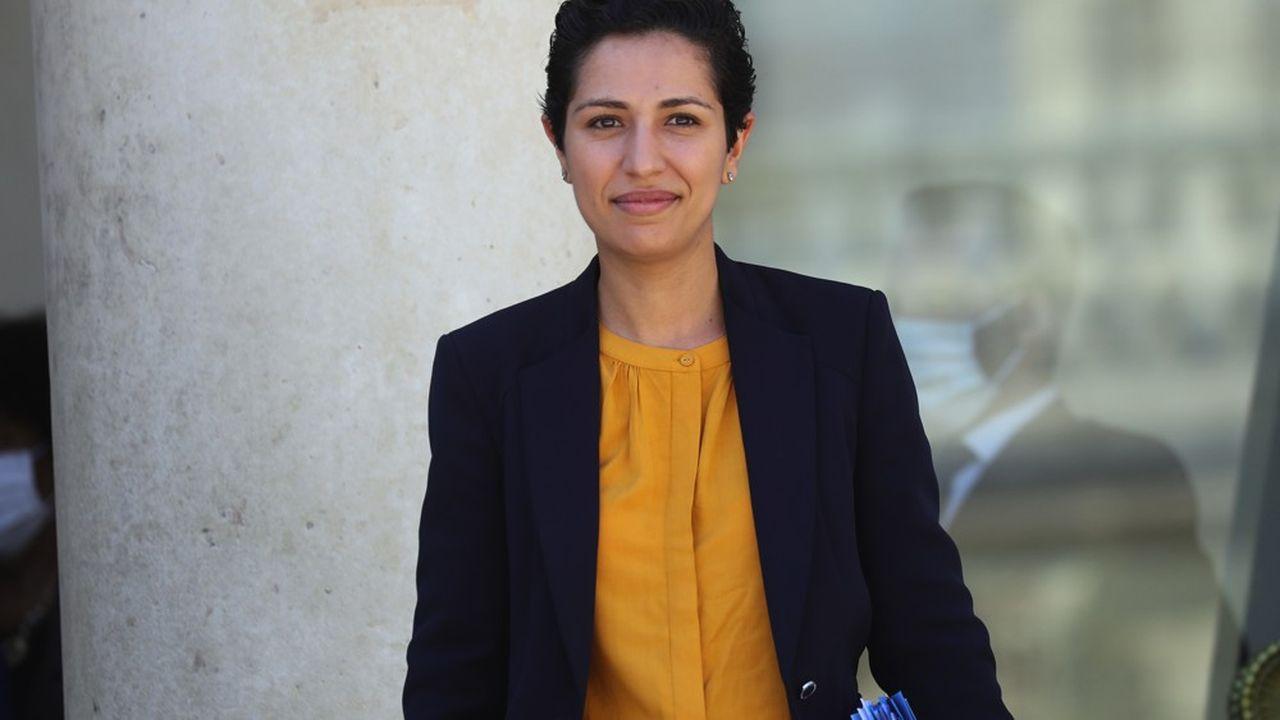 Sarah El Haïry, secrétaire d'Etat chargée de la Jeunesse et de l'Engagement
