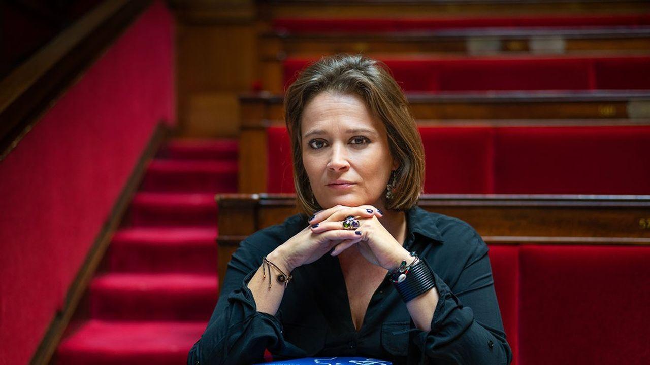 Olivia Grégoire a été nommée secrétaire d Etat chargée de l'Economie sociale, solidaire et responsable, en juillet2020.