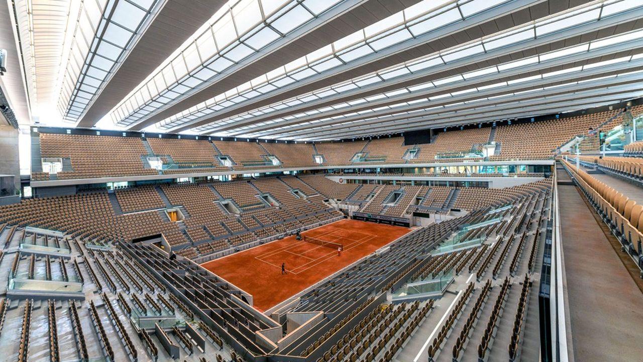 Le court Philippe-Chatrier disposera cette année pour la première fois d'un toit.