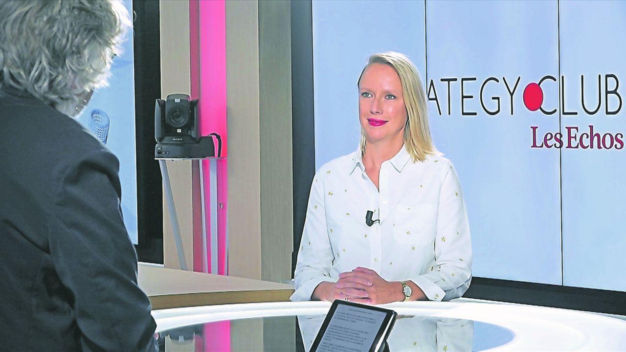 Hélène De Saugère, directrice marketing client, communication et digital de Petit Bateau, invitée du Startegy Club Les Echos.