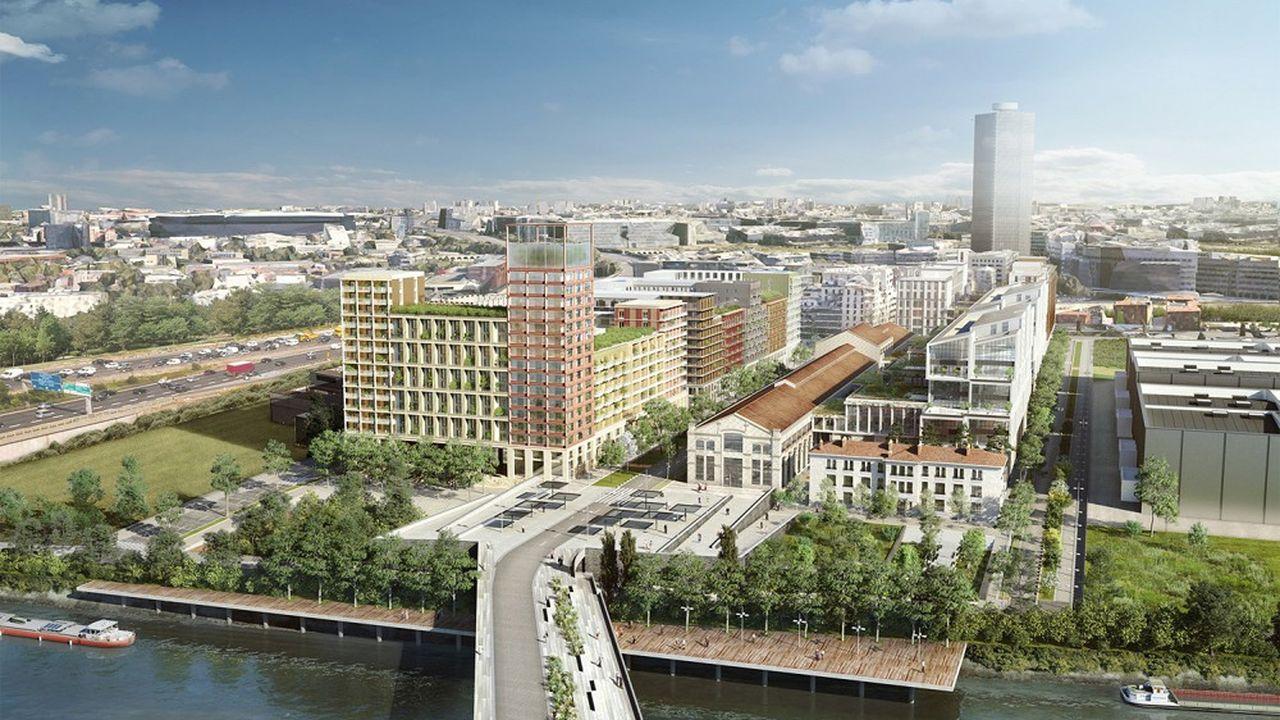 Vinci Immobilier a déposé les permis de construire de son projet Universeine.