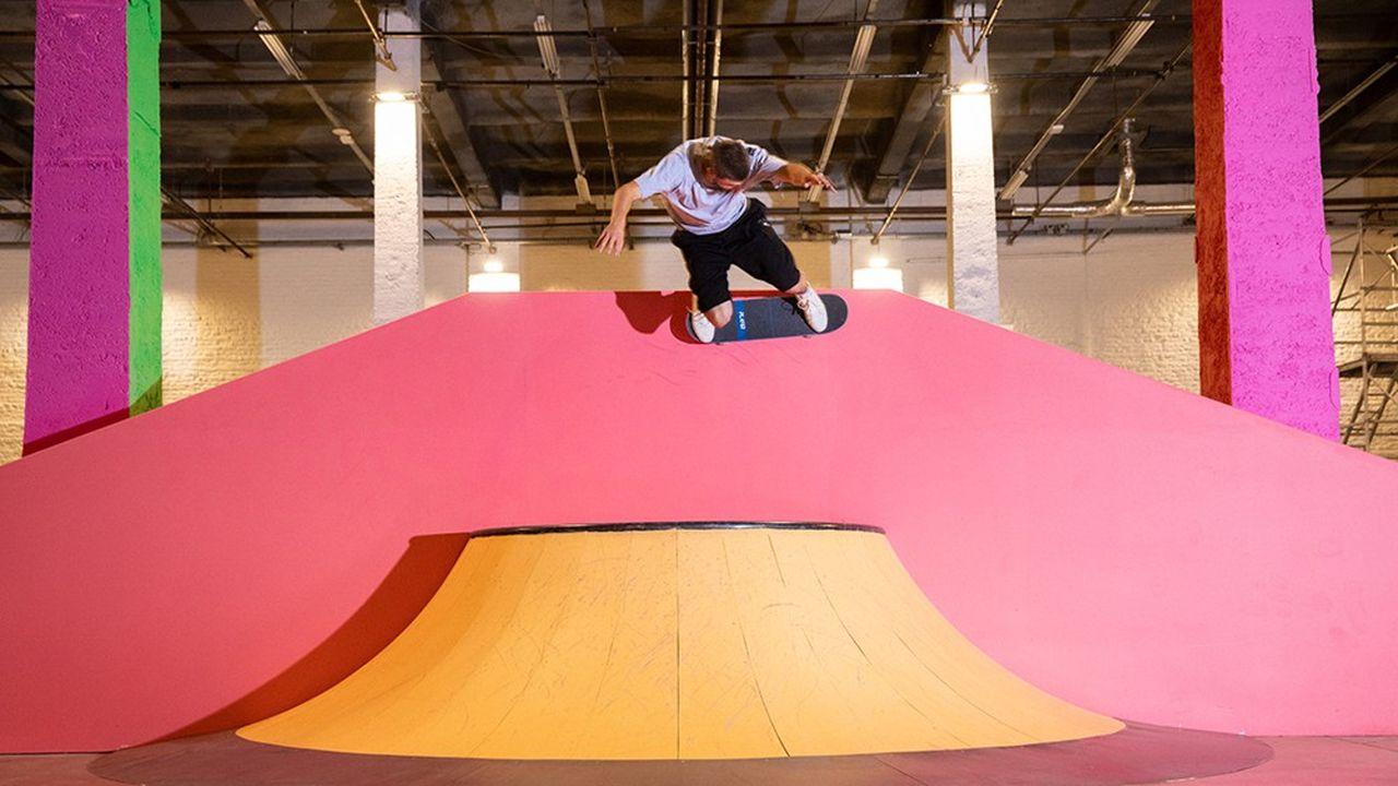 Le skatepark Colorama a été conçu avec l'aide de la fondation Decathlon.