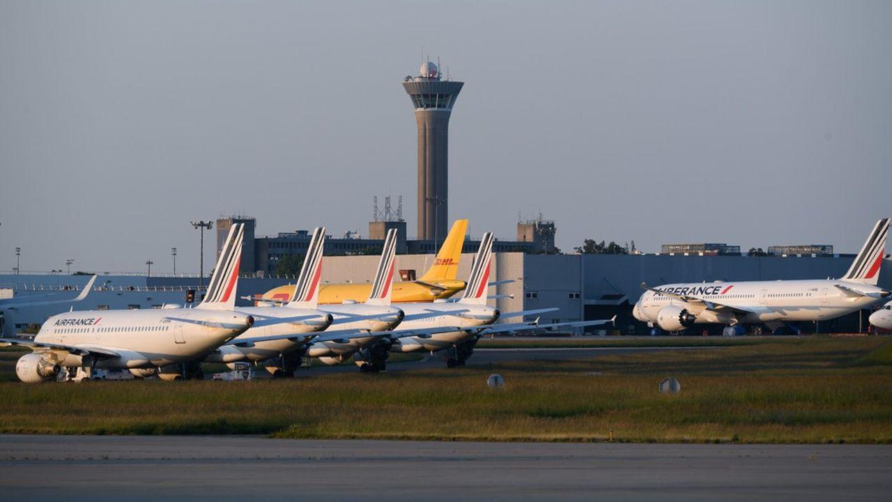 Outre ses propres avions, DHL utilise aussi les appareils d'autres compagnies.