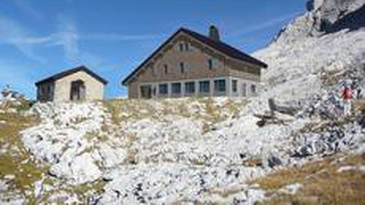 Le refuge de Gramusset est situé à 2.164 mètres d'altitude.