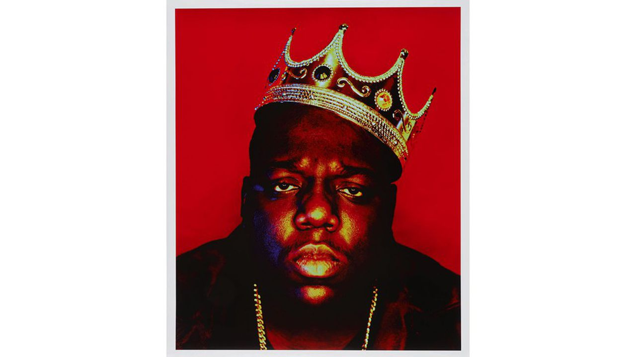 Barron Claiborne, 'Notorious B.I.G. as the K.O.N.Y (King of New York)'