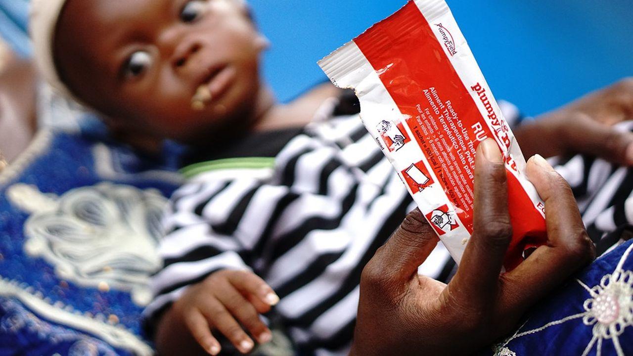 Nutriset, spécialiste des aliments thérapeutiques prêts à l'emploi contre la malnutrition, vise la malnutrition chronique qui sévit au sud de Madagascar.