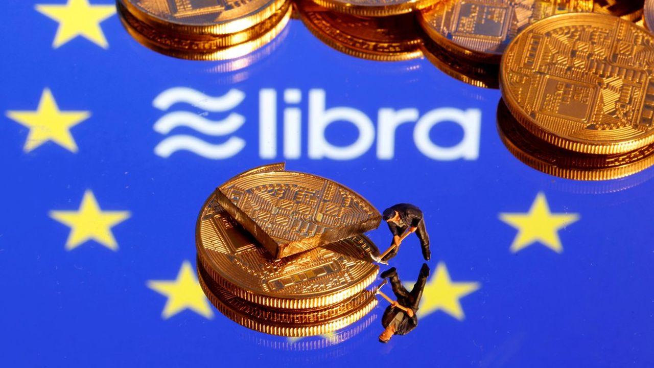 Bruxelles s'inquiète du poids systémique que pourraient prendre des monnaies numériques comme le Libra de Facebook.