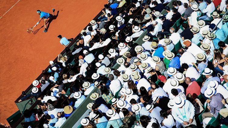 Une foule compacte suit la demi-finale opposant Rafael Nadal (photo) à Juan Martin Del Potro, à Roland-Garros en juin 2018.