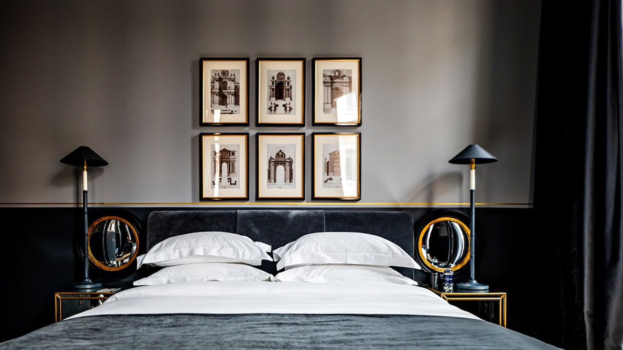 «Monsieur George», dernier-né du groupe Les Hôtels Monsieur, porte la patte de l'architecte d'intérieur britanniqueAnouska Hempel.