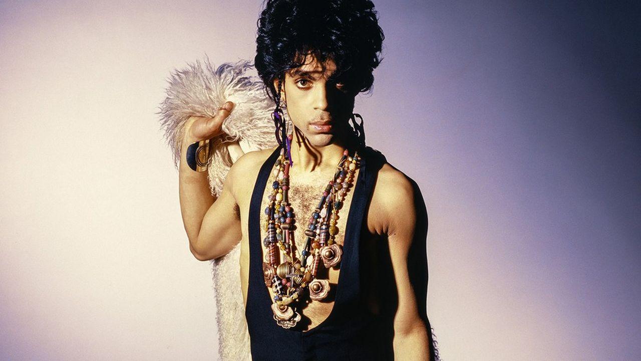 Prince, en 1987, à l'époque de l'album «Sign O The Times»