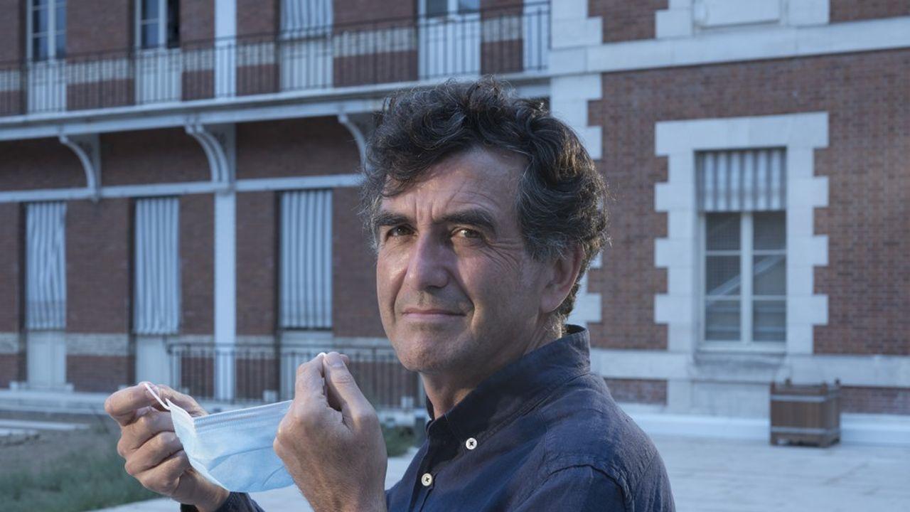 Arnaud Fontanet, dans les locaux de l'Institut Pasteur, à Paris.