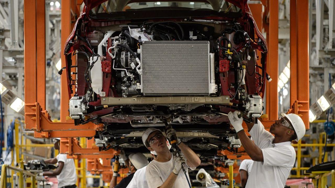 Le flux d'investissements directs dans le secteur automobile a étécoupé net par la pandémie.