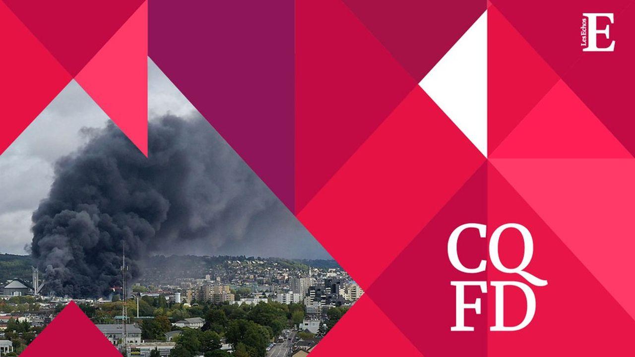 On ignore encore l'origine exacte de l'incendie qui a dévasté l'usine Lubrizol dans la proche banlieue de Rouen et inquiété les habitants.