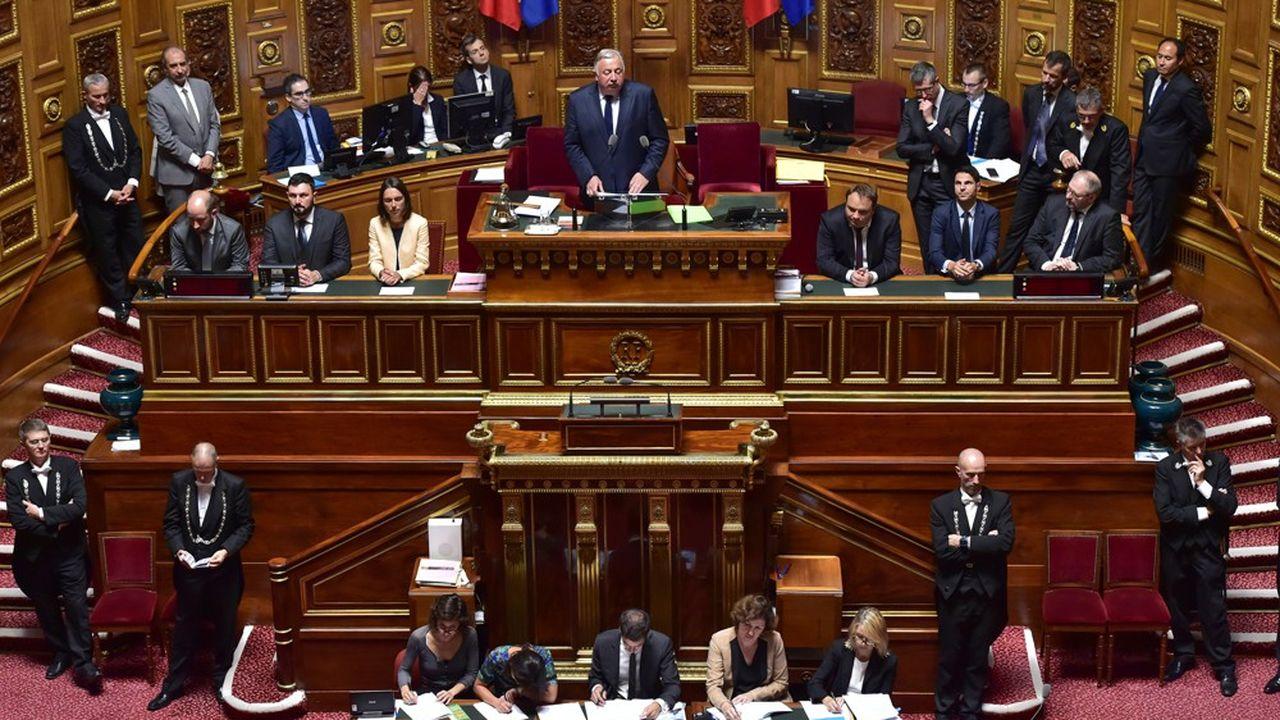 Gérard Larcher devrait conserver le «plateau», la présidence du Sénat.