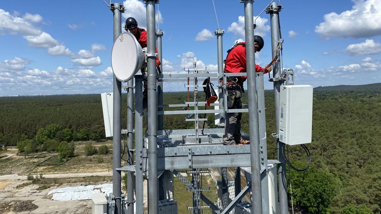 Les opérateurs investissent outre-Rhin massivement dans l'installation d'antennes 5G afin de couvrir toute la population allemande à l'horizon 2023, comme l'exige Berlin.