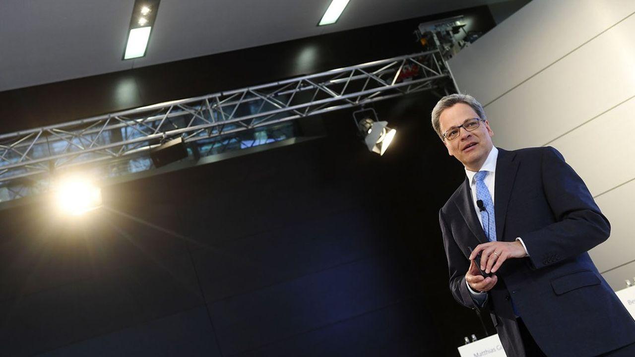 Transfuge de Deutsche Bank, Manfred Knof prendra la tête de Commerzbank début 2021.