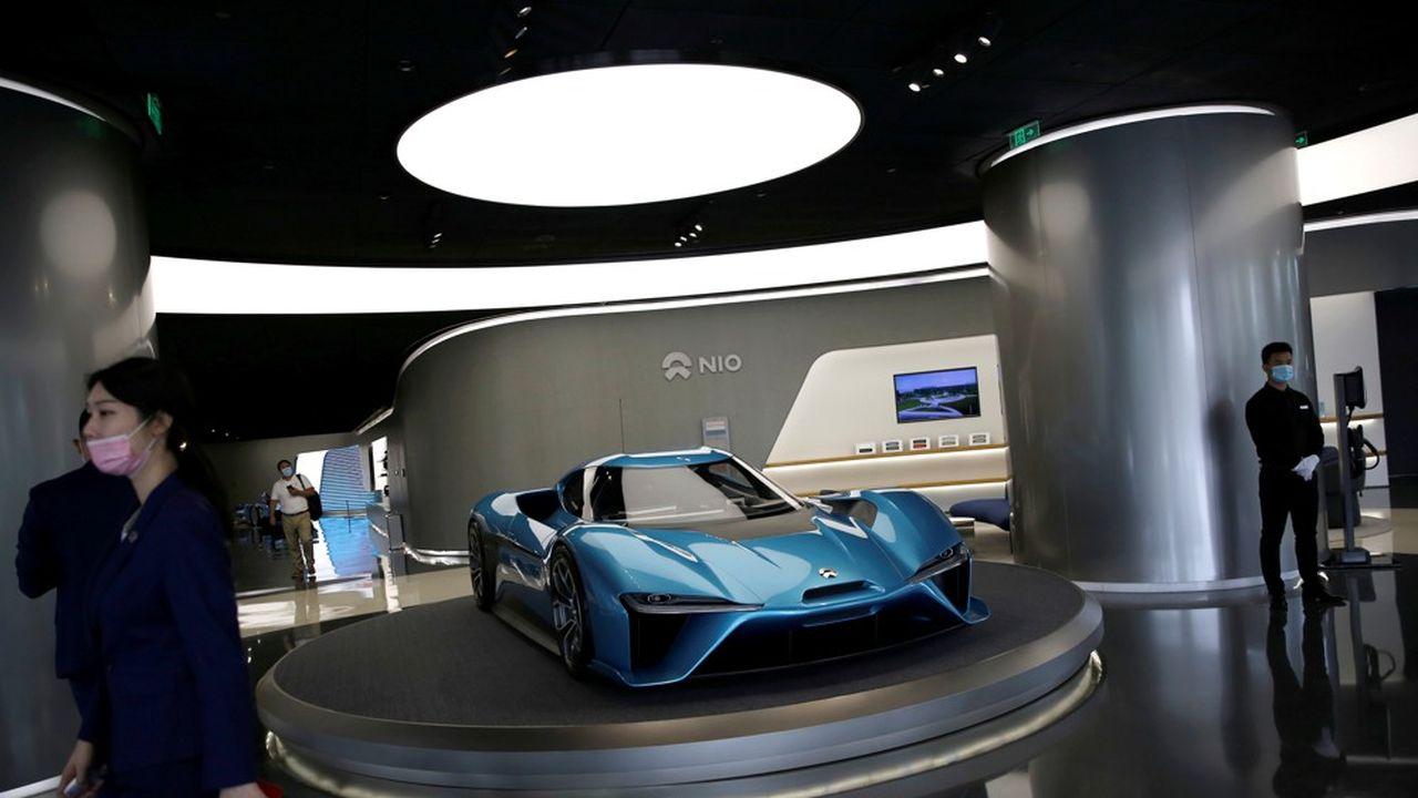 Les start-up chinoises (Nio, XPeng, Li Auto, WM Motor) ont levé plus de 8milliards de dollars cette année, et leurs derniers modèles vont tenir la vedette au salon de Pékin.