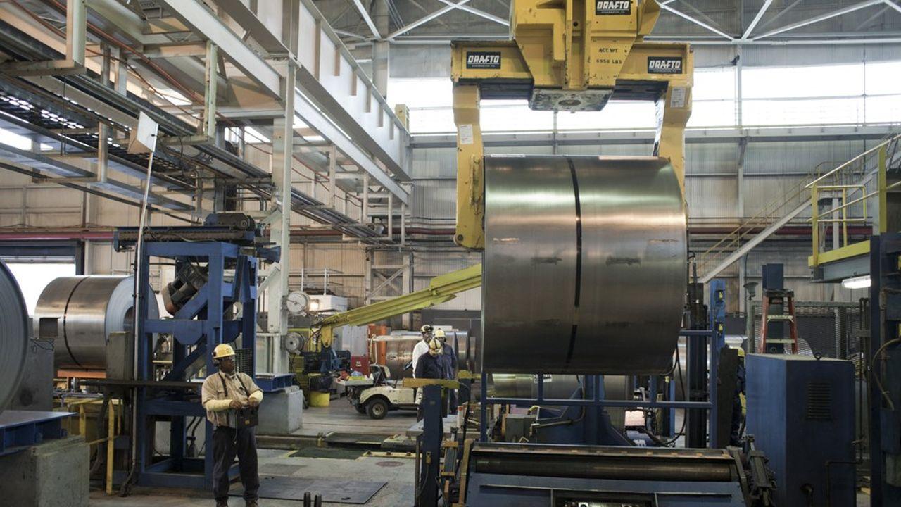 Les opérations américaines d'ArcelorMittal (ici une aciérie à Cleveland) ont été lourdement déficitaires au premier semestre 2020.