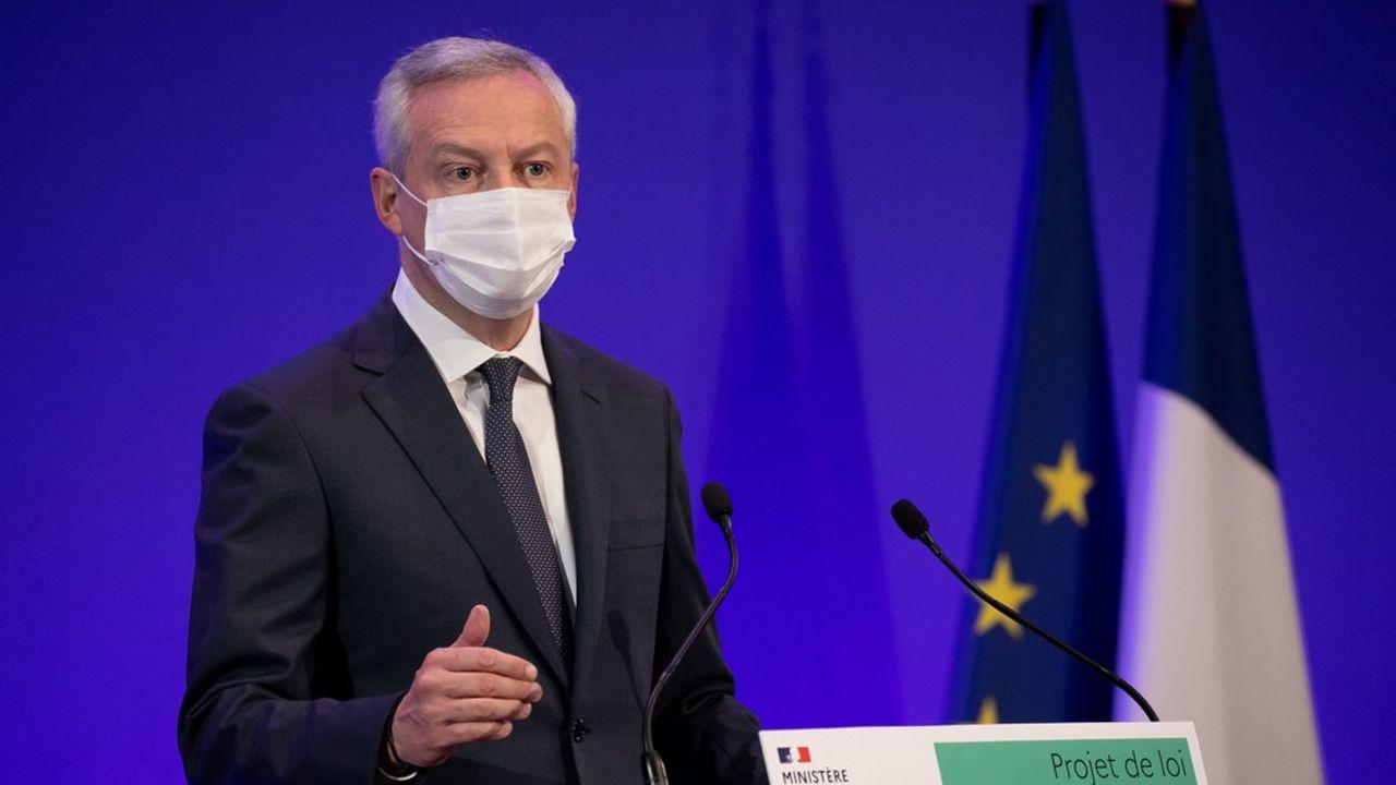 Bruno Le Maire, le ministre des Finances, s'est dit persuadé que « la France peut sortir plus forte de cette crise ».