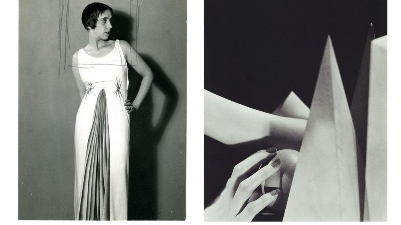 Elsa Schiaparelli vers 1931, publicité pour des bijoux (mains de Nush Eluard), 1935-1980