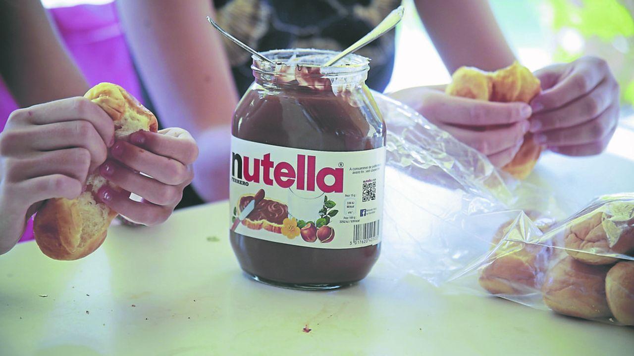 Nutella a dépassé un record de production à 1million de quintaux dans l'usine de Villers-Ecalle (Seine-Maritime).
