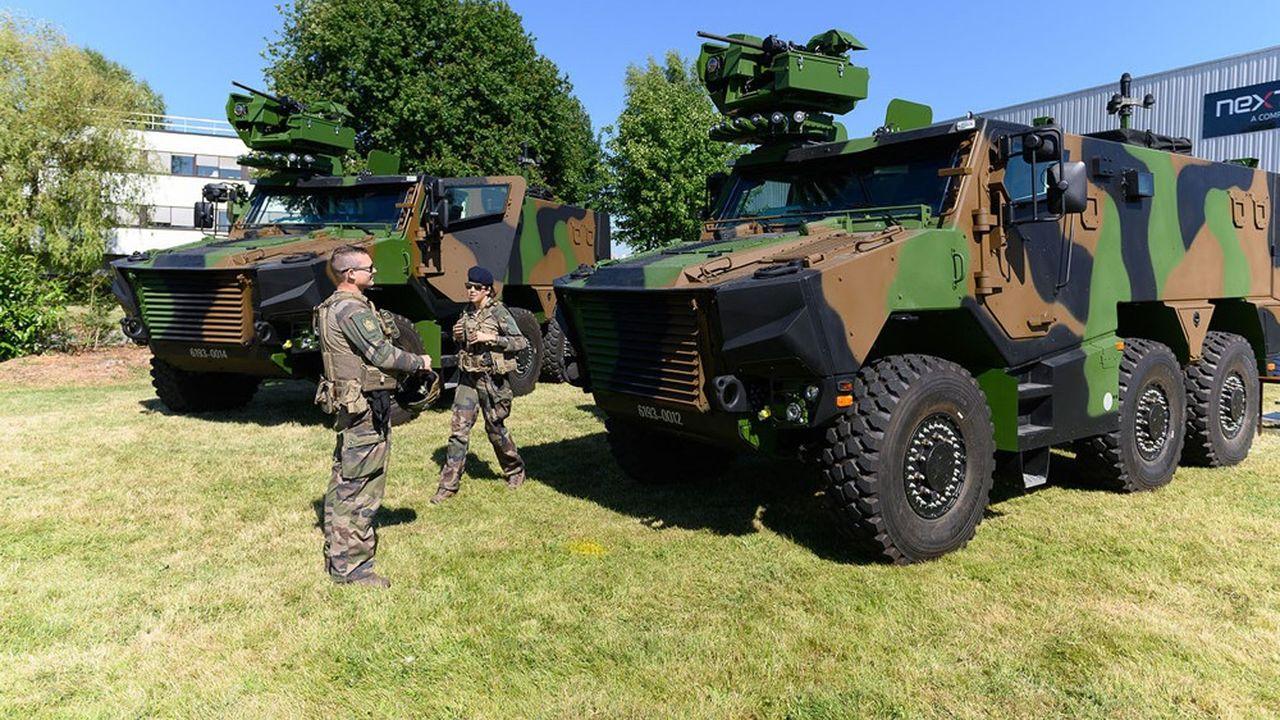 Les armées recevront 157 blindés Griffon en 2021, contre 92 cette année.