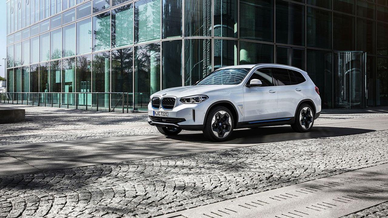 Le premier SUV électrique de BMW, l'iX3, débarquera sur les routes chinoises d'ici à fin 2020 avant d'arriver en Europe l'an prochain.