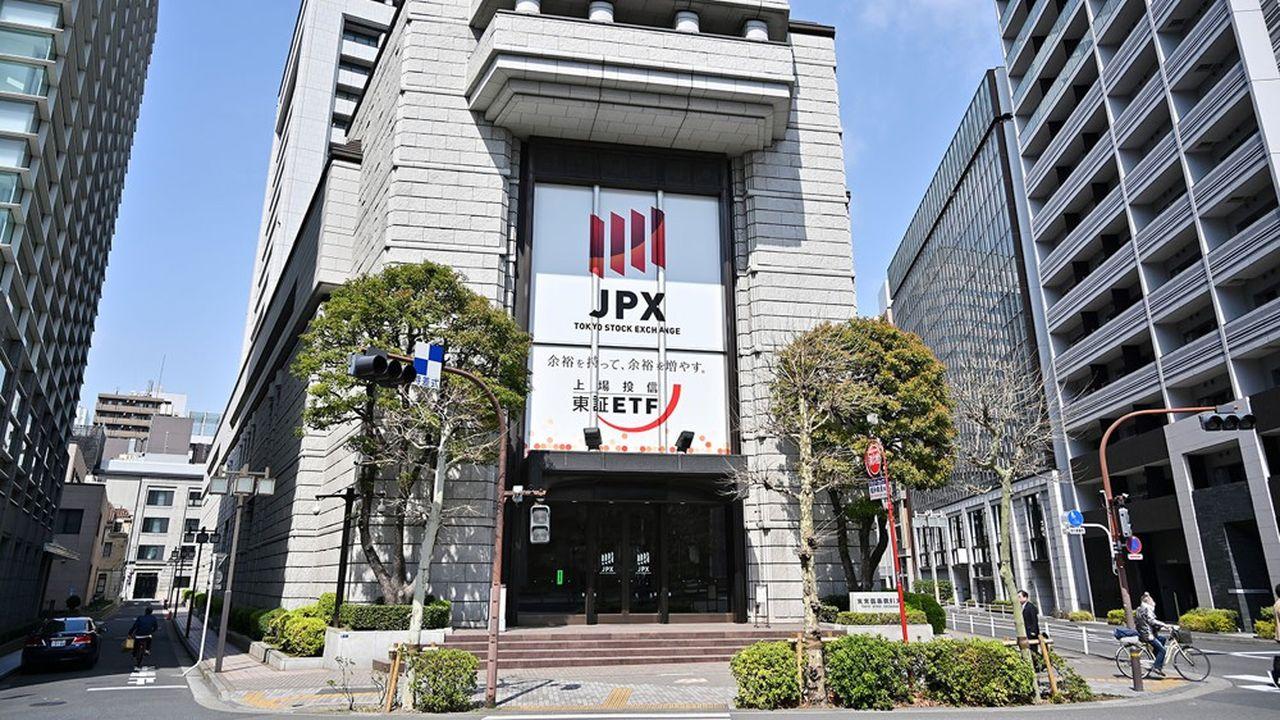 La Bourse de Tokyo