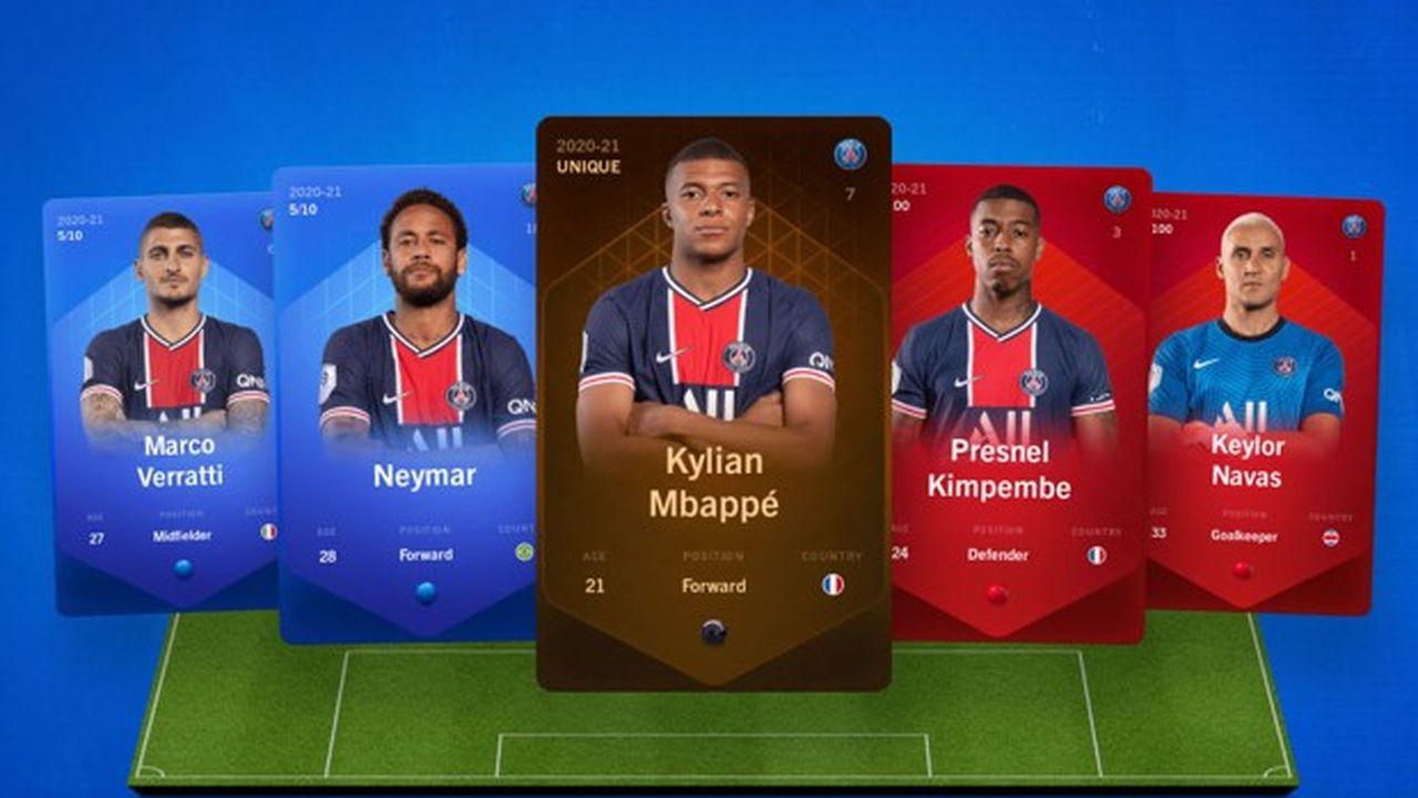 Les cartes des joueurs du PSG sont désormais disponibles sur la plateforme de Sorare.