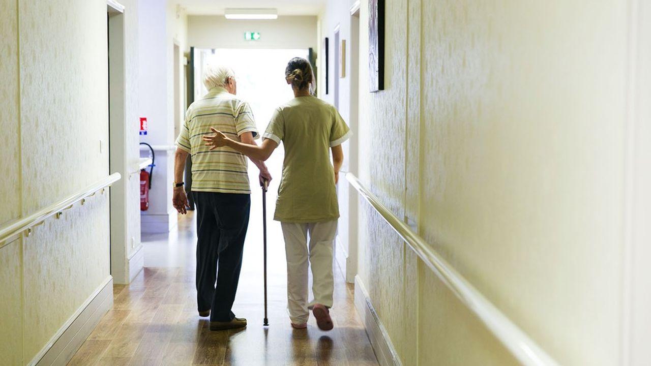 Cinquante des sites de Clinique Développement sont des établissements d'hébergement pour personnes âgées dépendantes.