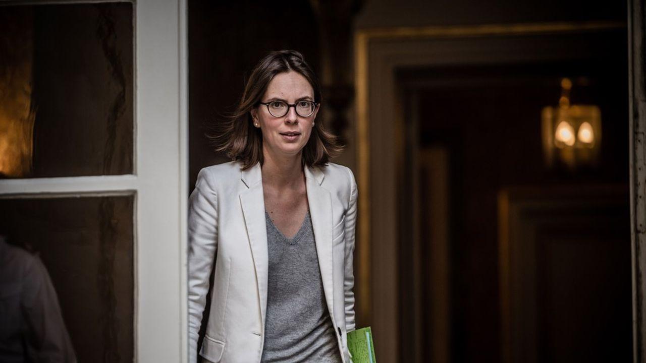 Amélie de Montchalin, ministre de la Transformation de la fonction publique.