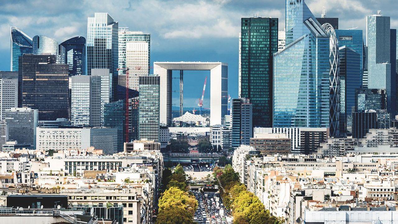Le quartier d'affaires de la Défense, aux portes de Paris.