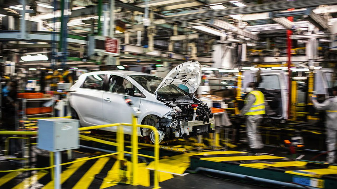 Renault prévoit de cesser l'assemblage de voitures dans l'usine de Flins (Yvelines), pour y rassembler des activités hétéroclites.