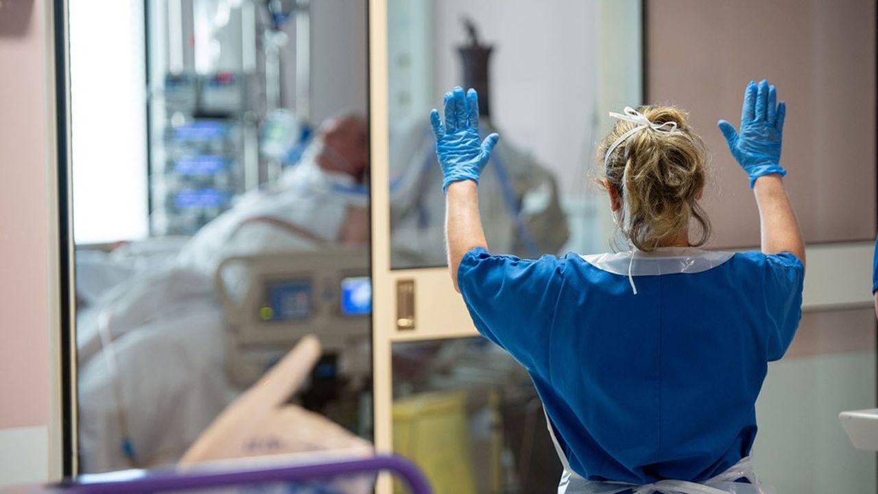 Dans le service de réanimation de l'hôpital de Périgueux, en Dordogne.