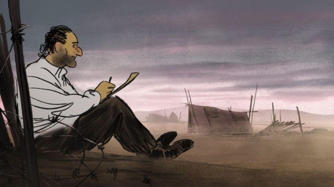 Ce premier film plus que prometteur rappelle qu'un bon dessin vaut souvent mieux qu'un long discours.