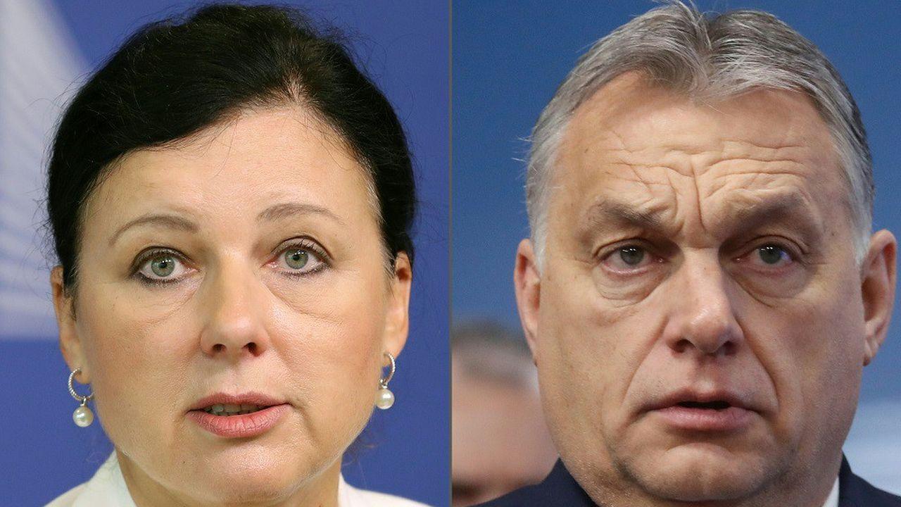 Viktor Orban a demandé la démission de la vice-présidente de la Commission européenne Vera Jourova en raison de ce qu'il a qualifié de 'déclarations publiques désobligeantes'.