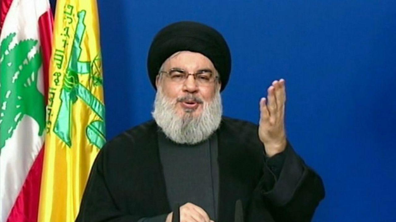 Hassan Nasrallah, chef du Hezbollah, s'est exprimé mardi soir à la télévision libanaise.